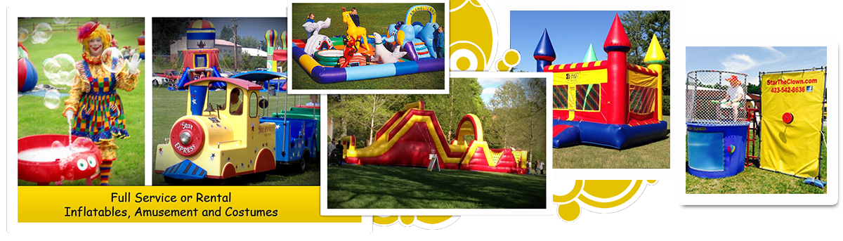 Inflatable Bouncers Slides For Rent Party Services in Tri City